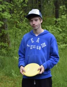 Tiukan kamppailun jälkeen Matias Jurvanen voitti MJ1-luokan vain yhden heiton turvin.
